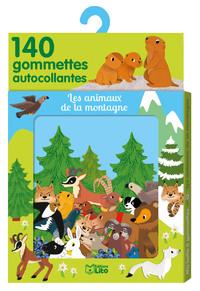 GOMMETTES ANIMAUX MONTAGNE