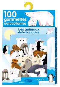 GOMMETTES ANIMAUX BANQUISE