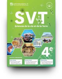 SVT  4e, Livre de l'élève