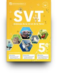 SVT  5e, Livre de l'élève
