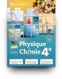 Physique Chimie 4e, Livre de l'élève