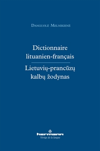 DICTIONNAIRE LITUANIEN-FRANCAIS