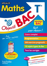 OBJECTIF BAC - SPECIALITE MATHS TERM