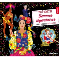 Ma pochette Femmes légendaires - Cartes à gratter et à colorier