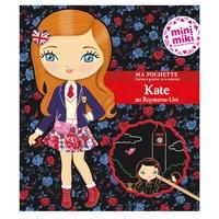 Minimiki - Ma pochette cartes à gratter et à colorier - Kate au Royaume-Uni