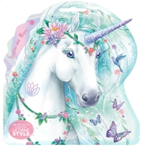 Licorne Style - Ma pochette créative - Licorne des fleurs