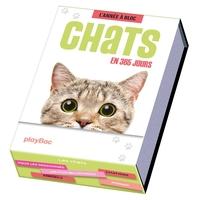 Calendrier Chats en 365 jours - L'Année à bloc
