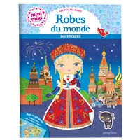 Minimiki - Robes du monde - Stickers ED. 2020