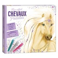 Mon coffret paillettes - Chevaux