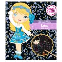 Minimiki - Ma pochette cartes à gratter et à colorier - Lena en Russie