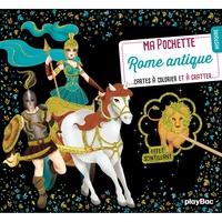 Ma pochette Rome Antique - Cartes à gratter et à colorier