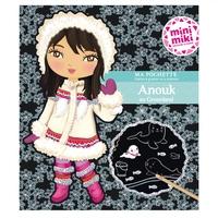 Minimiki - Ma pochette cartes à gratter et à colorier - Anouk au Groënland