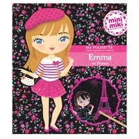 Minimiki - Ma pochette cartes à gratter et à colorier - Emma en France