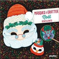 Masques à gratter - Noël