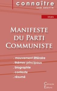 FICHE DE LECTURE MANIFESTE DU PARTI COMMUNISTE DE KARL MARX (ANALYSE PHILOSOPHIQUE DE REFERENCE ET R
