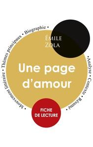 Fiche de lecture Une page d'amour (Étude intégrale)