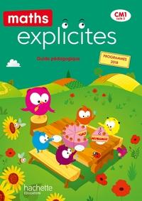 Maths explicites CM1, Guide pédagogique