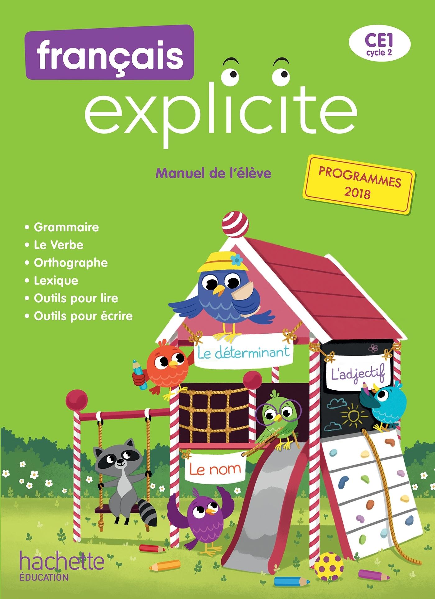 Français Explicites CE40, Livre de l'élève