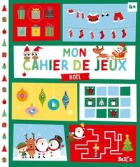 Mon cahier de jeux - Noël