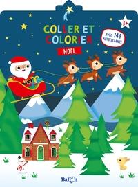 Coller et colorier - Noël