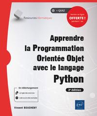 Apprendre la Programmation Orientée Objet avec le langage Python (2e édition)