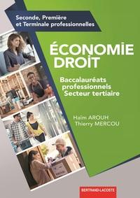 Economie Droit Bac Pro secteur Tertiaire, Livre de l'élève