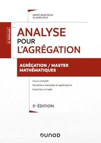 Analyse pour l'agrégation de mathématiques - 5e éd.