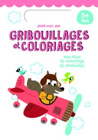 5+ gribouillages et coloriages