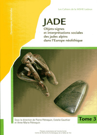 JADE 2 - TOMES 3 ET 4. OBJETS-SIGNES ET INTERPRETATIONS SOCIALES DES