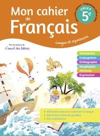 L'envol des lettres Français 5e, Cahier d'exercices