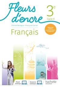 Fleurs d'encre Français 3e, Livre de l'élève