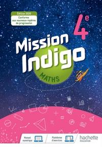 Mission Indigo Mathématiques 4e, Livre de l'élève