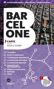 BARCELONE 1/12.000 (indéchirable)