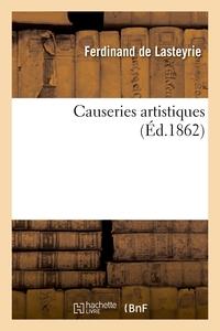 Causeries artistiques