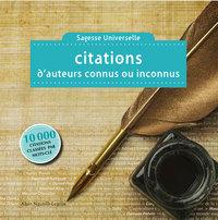 Citations d'auteurs connus ou inconnus