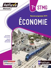 Economie - Réflexe Tle STMG, Livre + Licence numérique i-Manuel 2.0