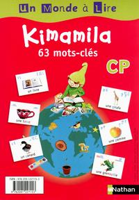 Un monde a lire kimamila 2012 CP, Affichettes mots-clés