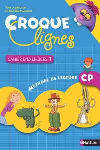 Croque-lignes CP, Cahier d'exercices 1