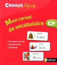 Croque-lignes CP, Carnet de vocabulaire