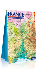 France physique et administrtive (carte XXL)