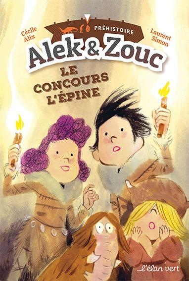 ALEK ET ZOUC - LE CONCOURS L'EPINE - PREHISTOIRE