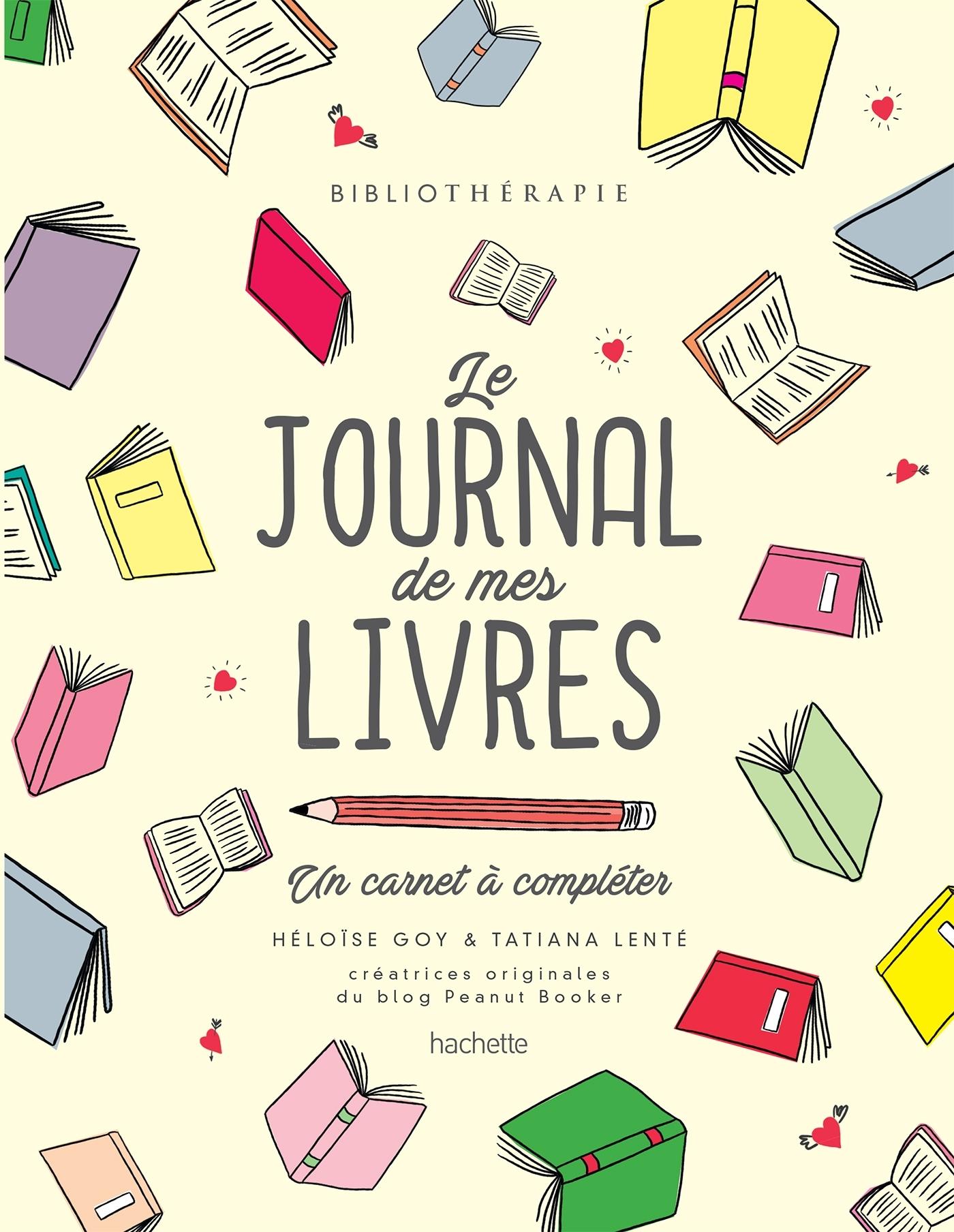 BIBLIOTHERAPIE - LE JOURNAL DE MES LIVRES - UN CARNET A COMPLETER
