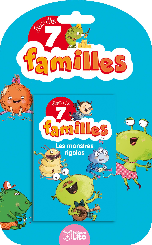 JEUX 7 FAMILLES MONSTRES RIGO