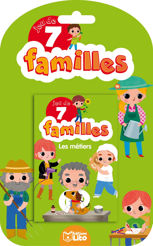 JEUX  7 FAMILLES LES METIERS