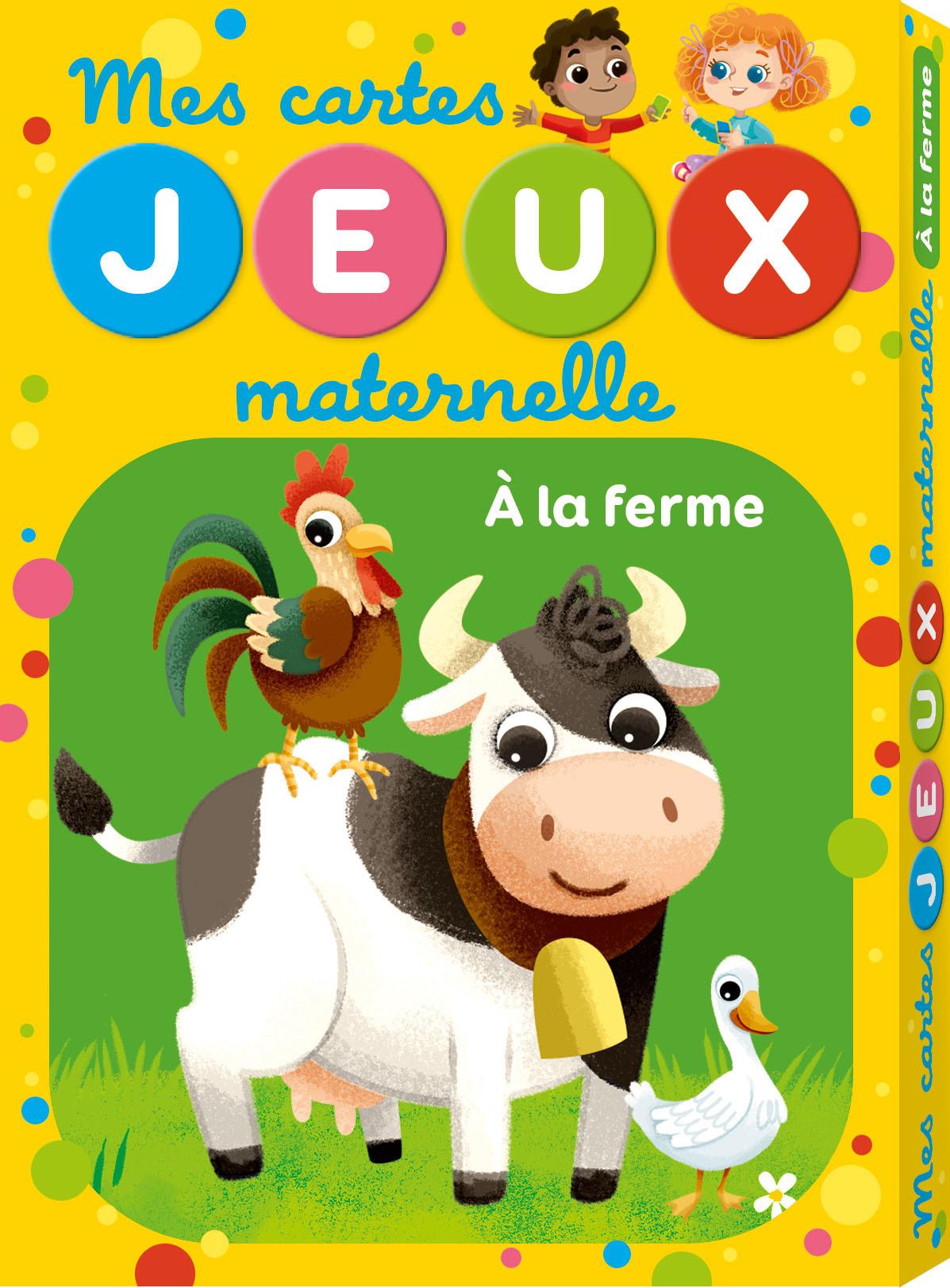 CARTE JEUX MATERNELLE FERME