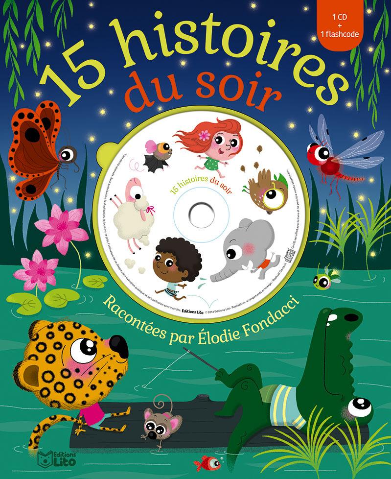 LIVRE CD 15 HISTOIRES DU SOIR