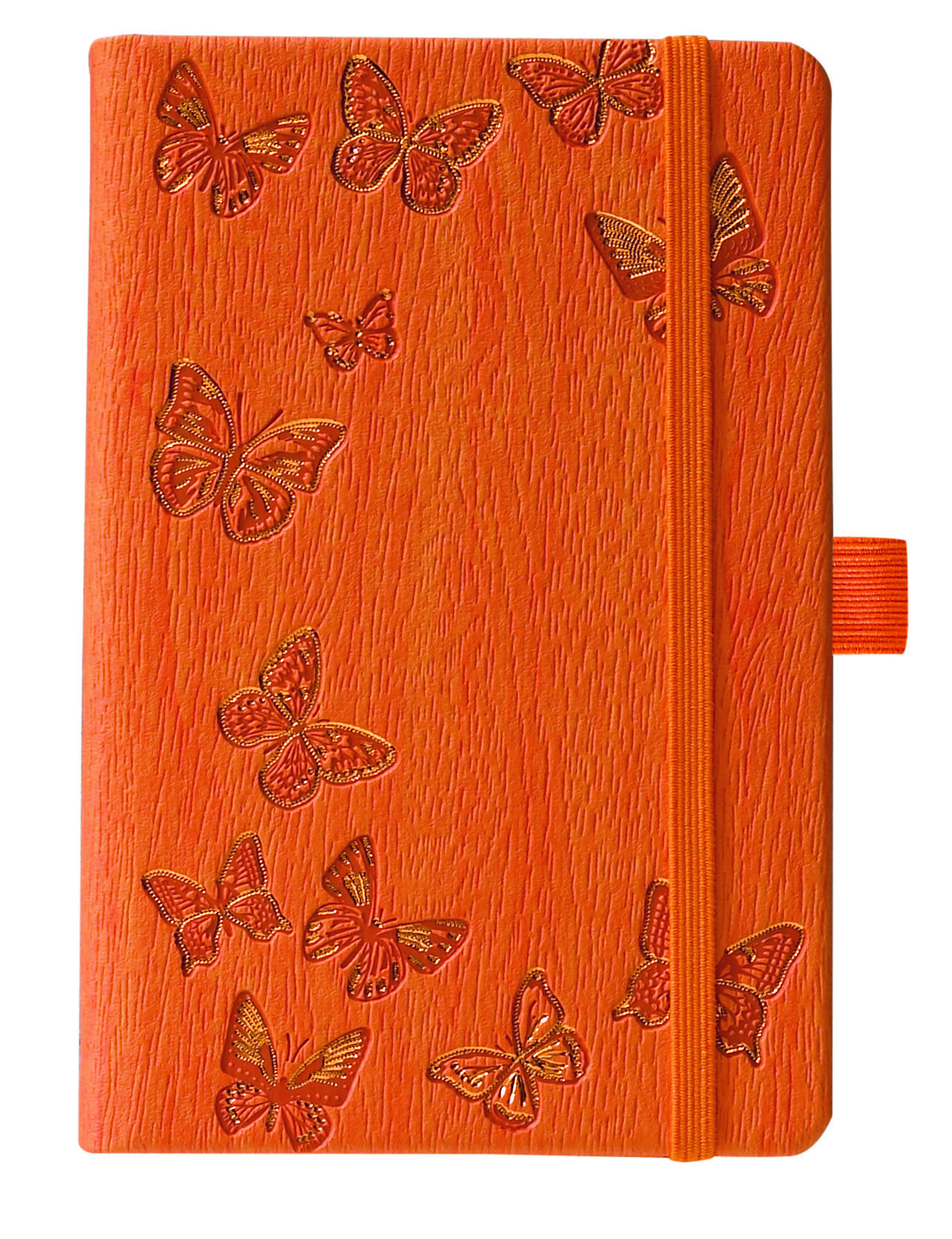 IVORY NATURE/PAPILLONS ORANGE 9 X 14 CM 192 PAGES