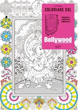 COLORIAGE XXL BOLLYWOOD
