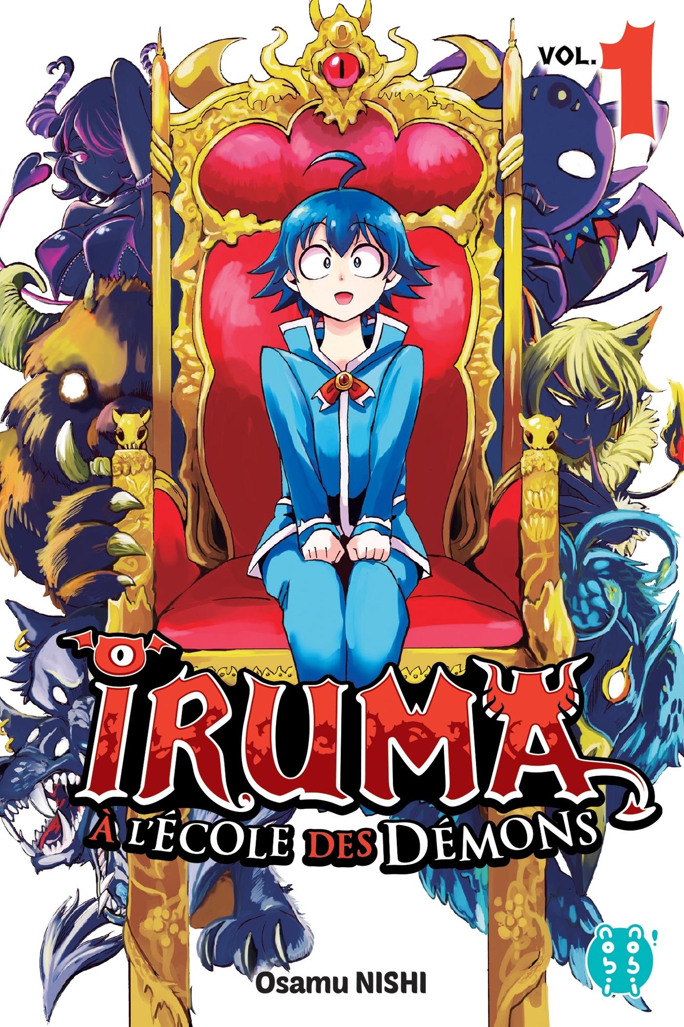 IRUMA A L'ECOLE DES DEMONS T01