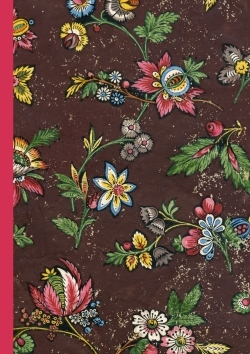 CAHIER DOMINOTE A5 - FLEURS ROUGE
